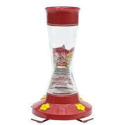 Perky-Pet Pinch Waist Glass Hummingbird Feeder with Free Nec