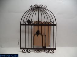 Plastec Wall Decor WD212DB Bird Cage - Bronze