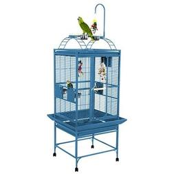 Medium Play Top Bird Cage Color: Black