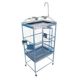 Large Play Top Bird Cage Color: Black
