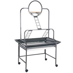 HQ Playstand with 3 Ladders and Small Ring, Black, 1 Per Box