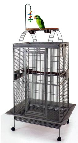 playtop 78 wrought iron large quaker parrot