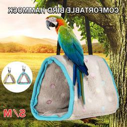 Plush Hut Hammock Hanging Cave Cage Snuggle Tent Bed Nest Bu