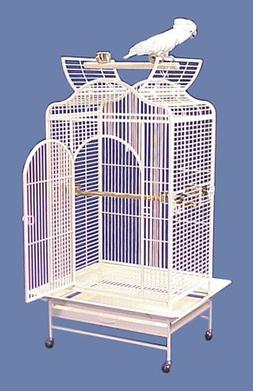 "Poipu Palace Convertible Top Bird Cage - 32 X 24"" X 61"" - Gr"