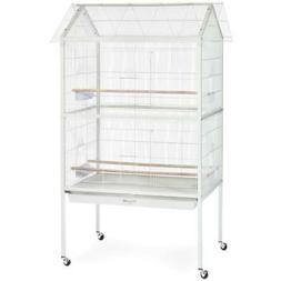 "Prevue Aviary Large Flight Bird Cage 68""H Overall with Wheel"