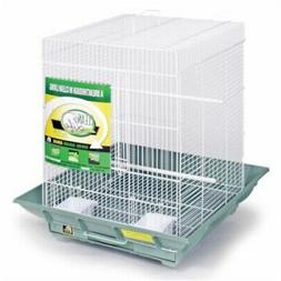 "Prevue Clean Life Parakeet Cockatiel Flight Bird Cage 24""H w"