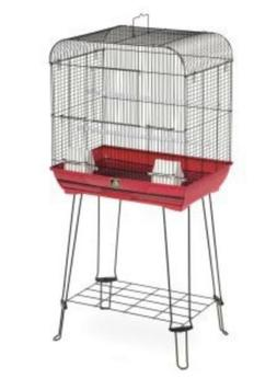 Prevue Hendryx Cockatiel and Parakeet Bird Cage with Stand