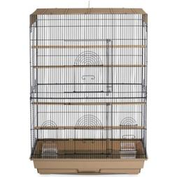 Prevue Hendryx Prevue Pet Products Flight Cage; Brown / Blac