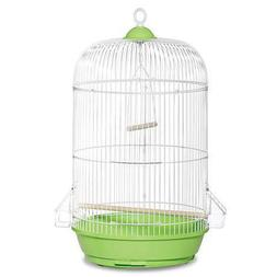 "Prevue Pet Products Classic Round Green Bird Cage, 24"" H X 1"