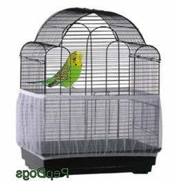 Prevue SEED CATCHER Seed Guard Mesh Bird Cage Cover Skirt Tr