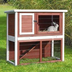 Trixie Pet Products Rabbit Hutch with Sloped Roof -