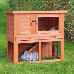 Rabbit Hutches And Cages Outdoor Indoor Wire Wooden House Gu