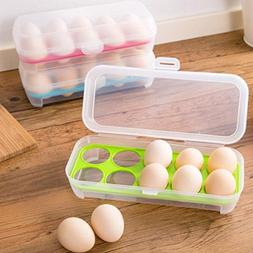 Cookcamp Refrigerator Storage Organizer Clear Covered Egg Ho