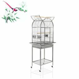 Removable Easy Clean Bird Cage Parrot Carrier  Stand for Par