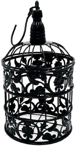 Pet Show Round Birdcages Metal Wall Hanging Bird Cage For Sm