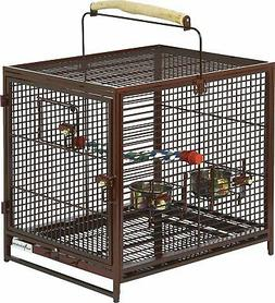ruby midwest poquito avian hotel bird cage