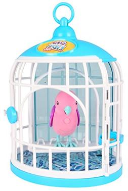 Little Live Pets S2 Bird with Cage, Krissy Crystal