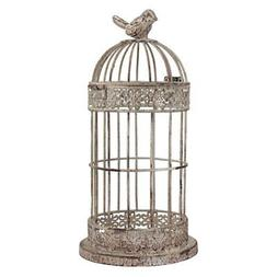 Stonebriar Small Aged Wire Bird Cage