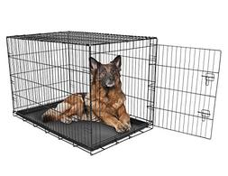 Carlson Pet Products SECURE AND FOLDABLE Single Door Metal D