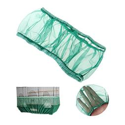 Stebcece Seed Catcher for Bird Cages, Nylon Mesh Net Cover