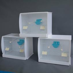 Lot of 3 Stackable Canary Finch Breeding Bird Cage with Nest