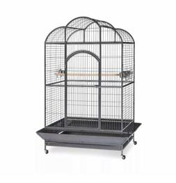 Prevue Pet Products Silverado Macaw Dometop Cage 3155S Silve
