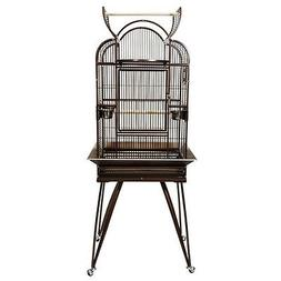 Kings Cages SLT4 2620 Triple Top Parrot Bird cage toy toys c