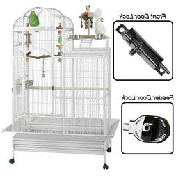"King's Cages SLTPC4226 Parrot Bird Cage 1"" and 5/8"" Bar Spac"