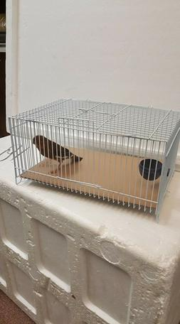 Small Animal Metal Wire Cage for Transport *ONLY Purple COLO