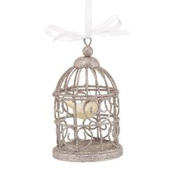 Department 56 Snowbabies Dream Wire Bird Cage Hanging Orname
