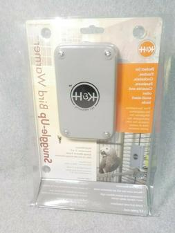 "K&H Pet Products Snuggle Up Bird Warmer Small/Medium Gray 3"""