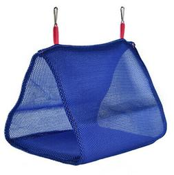 Soft Mesh Bird Cage Parrot Hammock Breathable Hanging Bed Ca