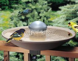 Solar Water Wiggler For Bird Bath