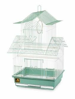 Prevue Hendryx SP1720-4 Shanghai Parakeet Cage, Green and Wh
