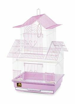 Prevue Hendryx SP1720-3 Shanghai Parakeet Cage, Lilac and Wh