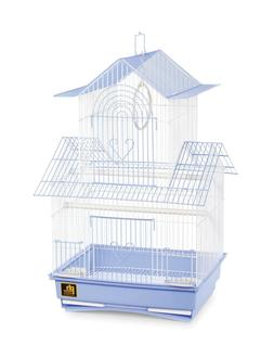 Prevue Hendryx SP1720-2 Shanghai Parakeet Cage, Blue and Whi