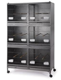 Mcage Extra Large Stackable Breeding Cage with Central Divid