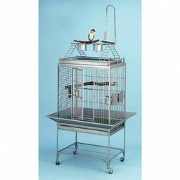stainless steel chiquita playtop bird cage