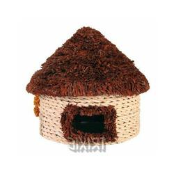 Trixie Straw House For Hamsters 16x16cm. **Free Shipping**