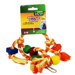 Wild Harvest Sunrise Rope Toy For Parakeets, Cockatiels And