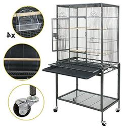 "SUPER DEAL 53"" Large Bird Cage Play Top Parrot Chinchilla Ca"