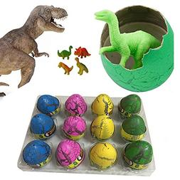 Super Large Size - 12pcs Crack Easter Dinosaur Eggs Hatching