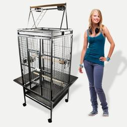 My1stPet TB-175 Bird Cage, Black