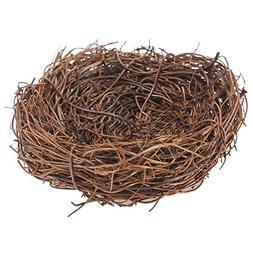 TOOGOO Handmade Vine Twig Bird Nest Home Nature Craft Holida