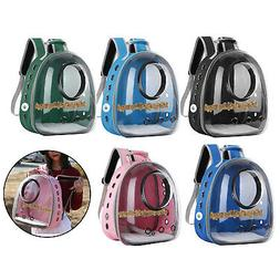 Parrot Cage Backpack Transparent Bird Carrier Breathable Tra