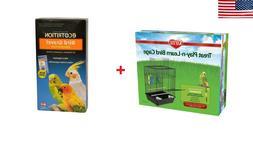 KAYTEE® Treat Play-n-Learn Parakeet Cage + 8 in 1 Ultra Car