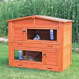TRIXIE 2-Story Rabbit Hutch With Attic - Large, XL