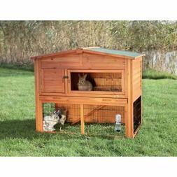 TRIXIE Rabbit Hutch with Outdoor Run Orange