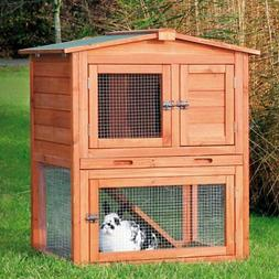 TRIXIE Rabbit Hutch with Peaked Roof - Medium