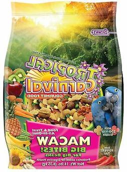 F.M. Brown'S Tropical Carnival Gourmet Macaw Food Big Bites